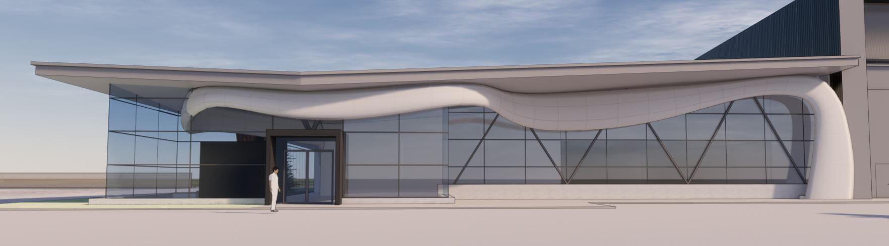 hangar-elevation